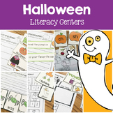 Halloween Literacy Center Fun