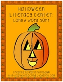Halloween Literacy Center: Long A Sort