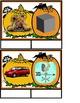 """Halloween Literacy Center -  Silent """"e""""  Short vowel/Long vowel Words."""