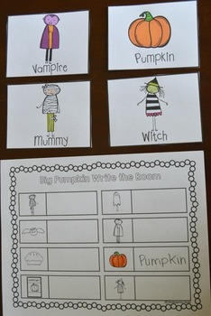 Halloween Literacy Centers {CCSS}