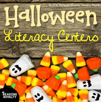 Halloween Literacy Centers (7 Activities!)