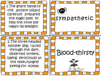 Halloween Imagination Creative Writing Workshop