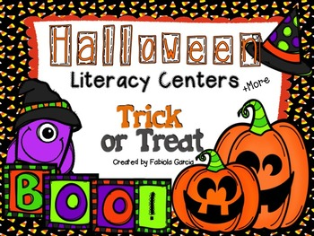 Halloween Literacy Centers (+More)