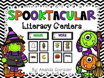 Halloween Literacy Centers/ Word Work
