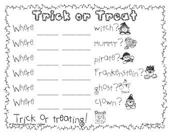 Halloween Literacy Centers for Common Core