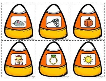 Halloween Literacy Centers {for Kindergarten}