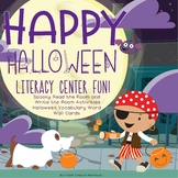 Halloween Read, Write the Room | Literacy Center Sight Word Games and Activities