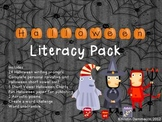 Halloween Literacy Common Core aligned for 2nd +3rd with personal narrative unit
