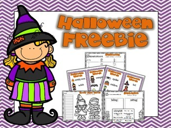 Halloween Literacy FREEBIE