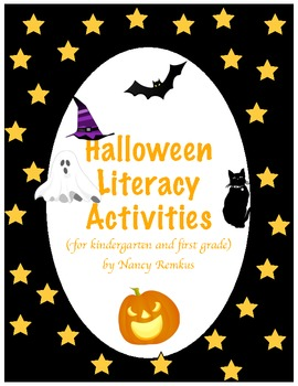 Halloween Activities for Literacy Centers! Interactive and Fun!
