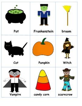 Halloween Literacy Fun Pack for First Grade