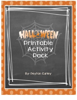 Halloween Literacy Fun Pack