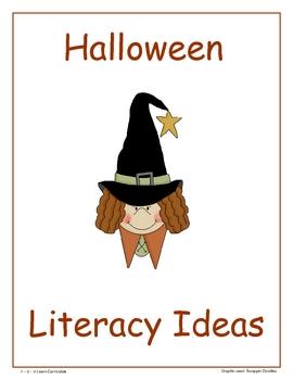 Halloween Literacy Ideas