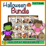 Halloween Themed Literacy & Math Bundle