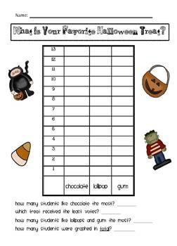 Halloween Literacy & Math Packet