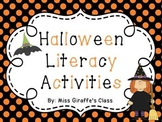Halloween Reading Activities: Fun Halloween Literacy Centers and Writing Prompts
