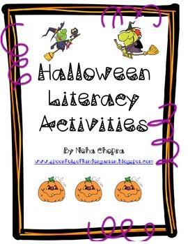 Halloween Literacy Pack