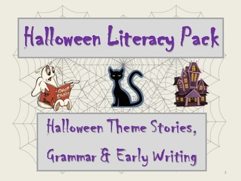 Halloween Literacy Pack: Activities to celebrate our traditional holiday