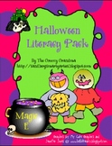 Halloween Literacy Pack Personal Narrative