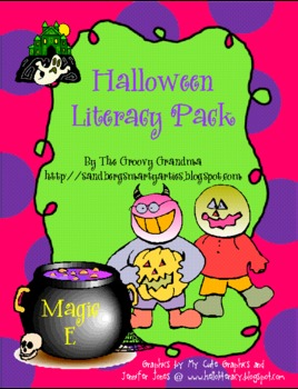 Halloween Literacy Pack Personal Narrative
