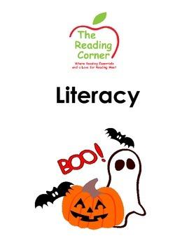 Halloween Literacy Package