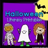 Halloween Literacy Printables