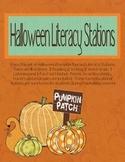 Halloween Literacy Stations