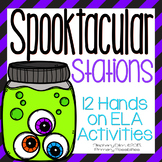 Halloween Literacy Stations and Center Activities{Common Core Aligned!}