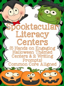 Halloween Centers or October Centers - Literacy Centers