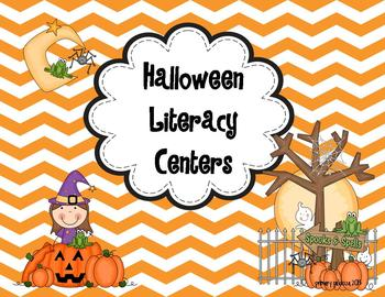 Halloween Literacy Unit