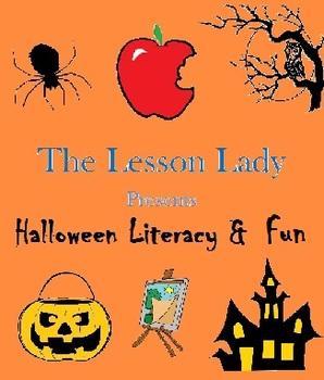 Halloween Literacy Writing Centers & Fun Activities