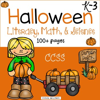 Halloween Literacy and Math Activities
