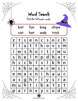 Halloween Literacy and Math Activities - 1st Grade