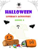 Halloween Literacy Activities - 3rd Grade