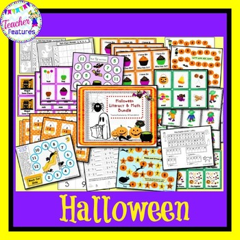 Halloween Pumpkin Math and Literacy Activities