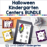Halloween Literacy and Math Centers Bundle