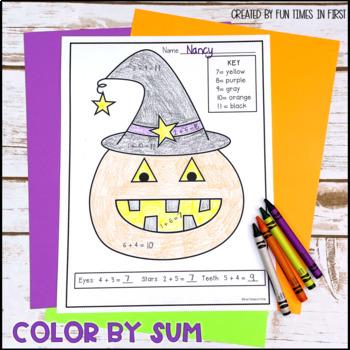 Halloween Literacy and Math Fun