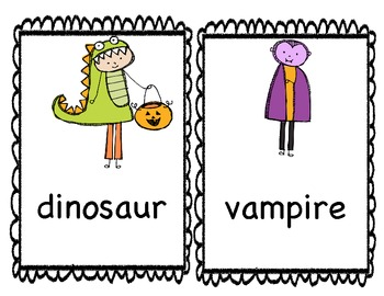 Halloween Literacy and Math Games!