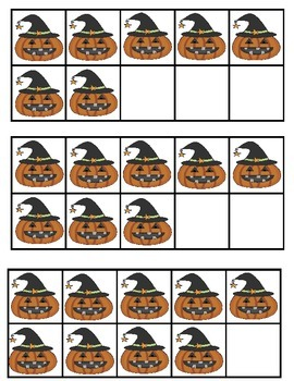 Halloween Literacy and Math Learning Fun Centers