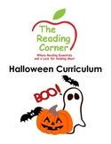 Halloween Literacy and Math Package
