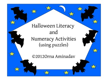 Halloween Literacy and Numeracy Puzzles