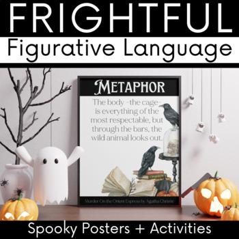 Halloween Literary Device Posters: Frightful Figurative Language
