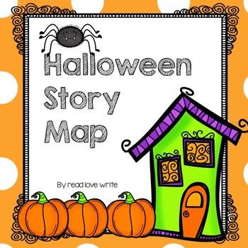 Halloween Literature Story Map