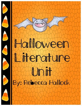 Halloween Literature Unit