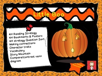 """Halloween: """"Little Boo"""" not-so-scary reading comprehension"""