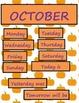Halloween Little Owl Calendar Set--October Fun B2S