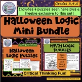 Halloween Logic Mini Bundle