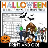 Halloween Logic Puzzle FREEBIE!! Costume Contest