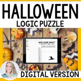 Halloween Logic Puzzle - GOOGLE EDITION