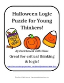 Halloween Logic Puzzle for Young and Gifted Thinkers!